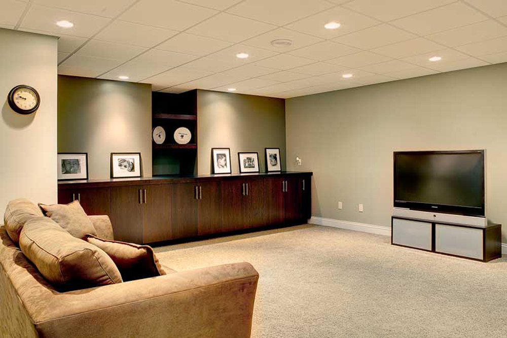 custom basement remodel